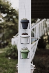 Serene Succulent Planter with Metal Wall Hanger (Pack 6)