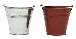 Mini Tin Bucket Planter (Pack 36)