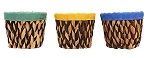 Woven Basket Planter (Pack 8)